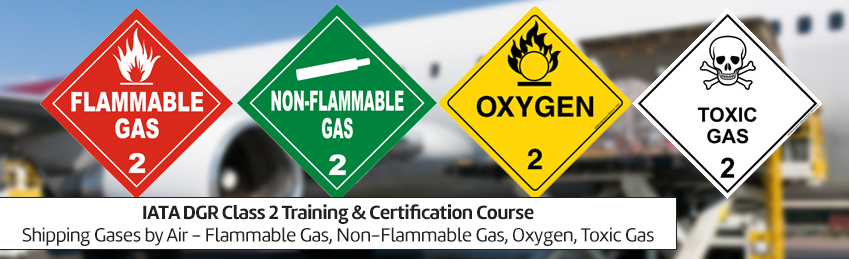 Shipping Gases by Air Flammable Gas Non-Flammable Gas Oxygen