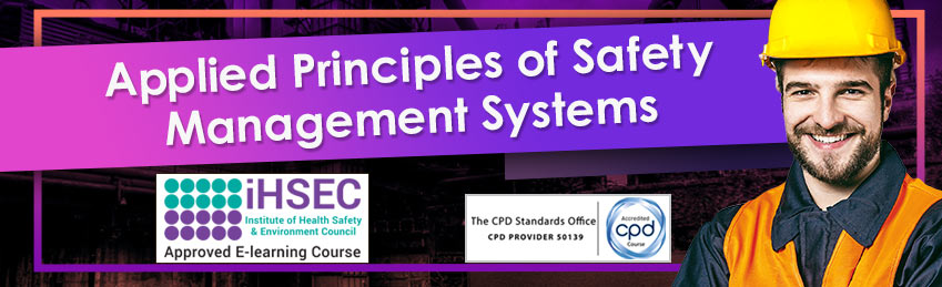 Applied Principles of Safety Management Systems