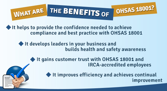 ohsas 18001 lead auditor training material pdf