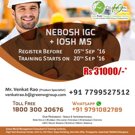 Nebosh IGC in Hyderabad