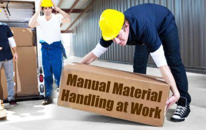 Safety Procedures Linked to Manual Material Handling at Work Places