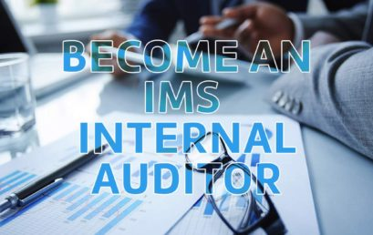 Make a decisive decision to become an IMS internal auditor