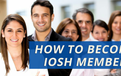 HOW TO BECOME IOSH MEMBER