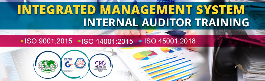 Integrated Management System (IMS) Internal lead auditor training in