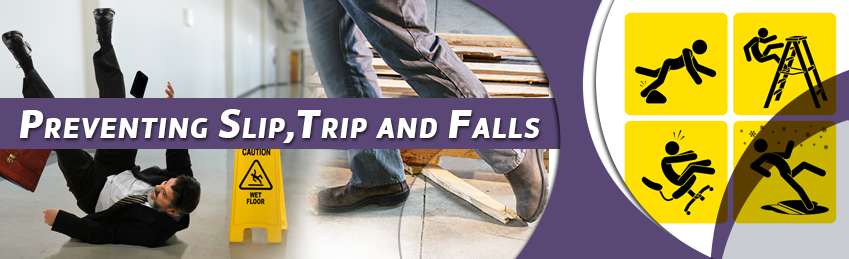Inhouse Corporate Training - Preventing Slip, Trip and Falls