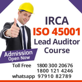 iso 45001 lead auditor training in chennai