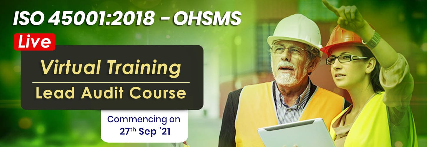 ISO 45001 2018 Lead Auditor Courses in India