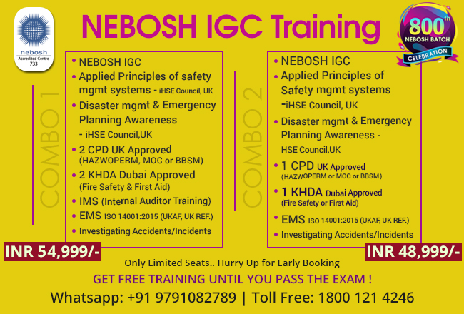 Nebosh Course In Ahmedabad Gujarat Green World Group India