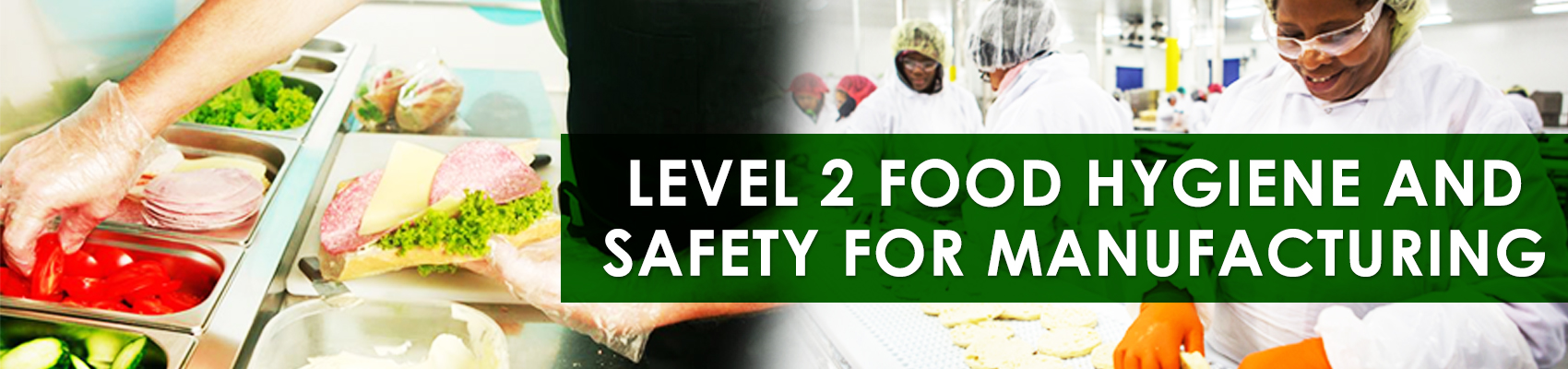 Level 2 Food Hygiene And Safety For Manufacturing Green