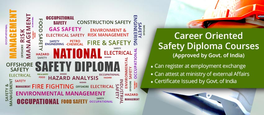 Safety Courses in India | Safety Officer Course | Safety Diploma