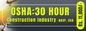 OSHA 30 Hour Construction Safety Course