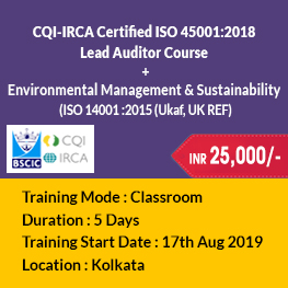 ISO 45001_2018 Kolkata