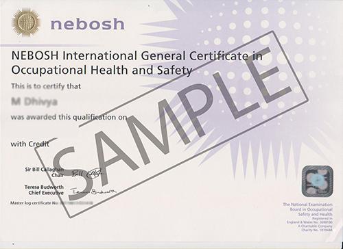 Nebosh Igc Course In New Delhi Green World Group India Nebosh