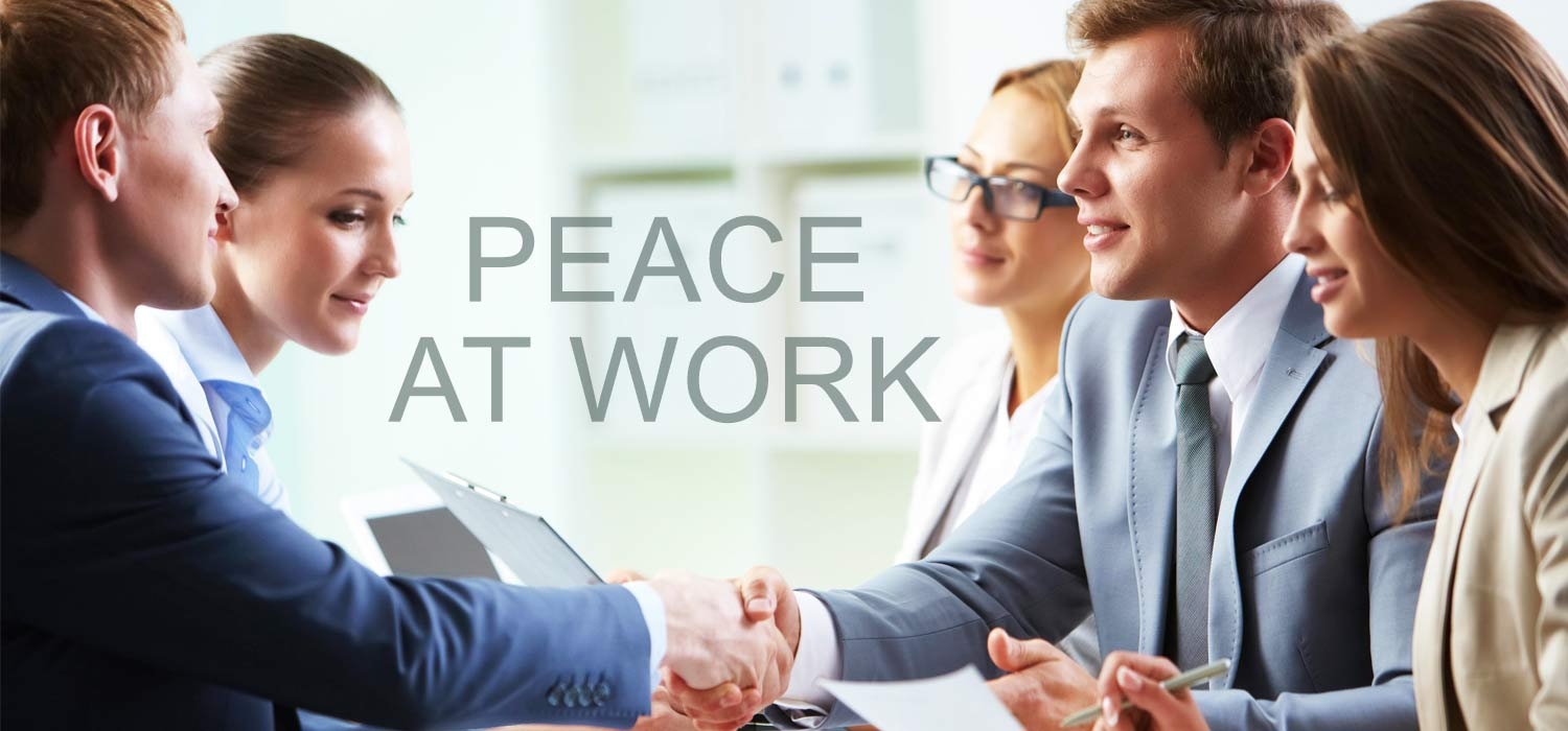 Manage your workplace nicely to prevail peace and tranquility