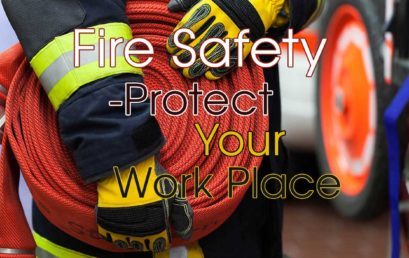 Engage fire safety experts to protect your work environment
