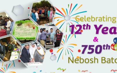Celebrating 12th Year Of Green World Group & 750th Nebosh Batch