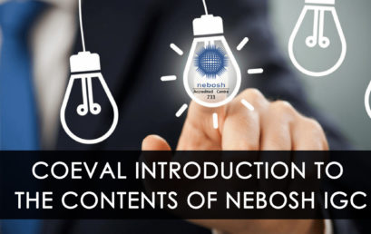 PEDAGOGICS OF NEBOSH IGC : COEVAL INTRODUCTION TO THE CONTENTS OF NEBOSH IGC