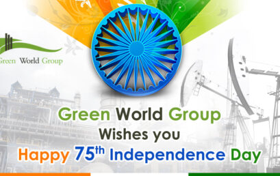 """75th INDEPENDENCE DAY CELEBRATION AT """"GREEN WORLD GROUP"""""""