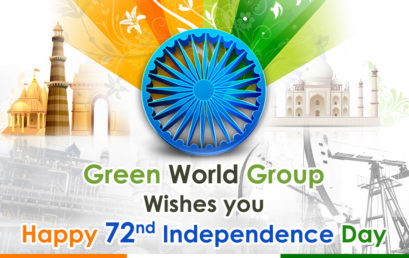 "72nd INDEPENDENCE DAY CELEBRATION AT ""GREEN WORLD GROUP"""