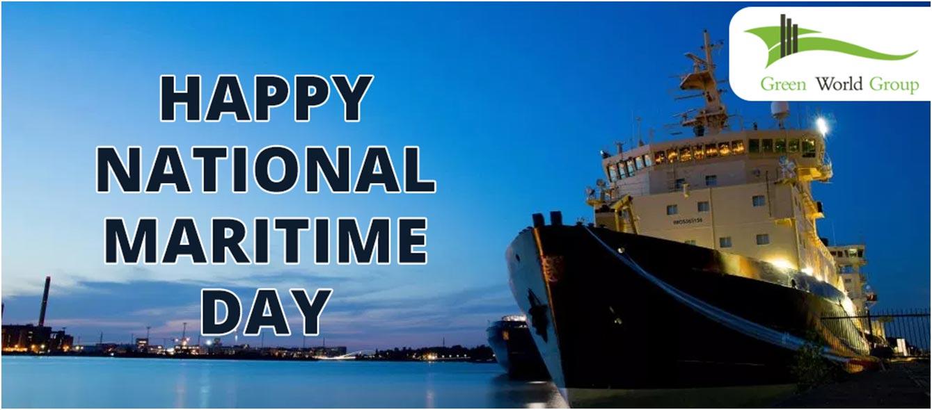 Greeting World Maritime Day