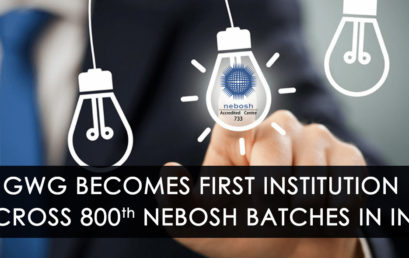 GWG Becomes First Institution to Cross 800 NEBOSH Batches in India