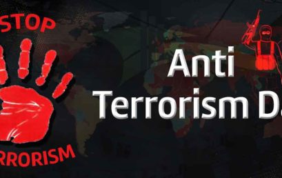 World Anti-Terrorism Day observed 21st May