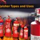 Fire Extinguisher Types and Uses Green World Group