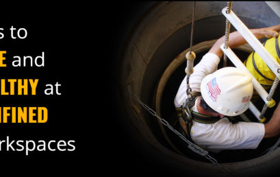 Tips to remain safe and healthy at confined workspaces!