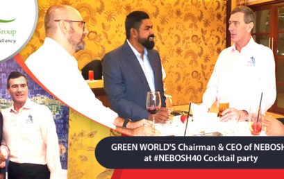 Green World Group's 13 years of Training Journey in conjunction with #NEBOSH40