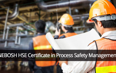 NEBOSH HSE Certificate in Process Safety Management
