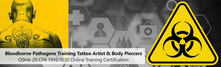 Body Art Bloodborne Pathogens Training
